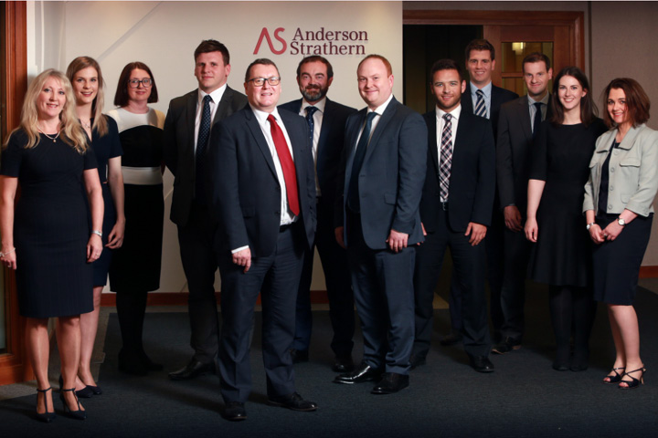 Partner appointments and promotions follow strong year at Anderson Strathern