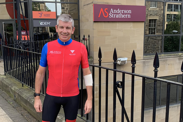 Neil's inspired by Dad to Ride Across Britain for Parkinson's UK