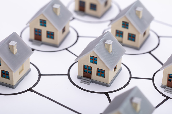 The residential property market boom