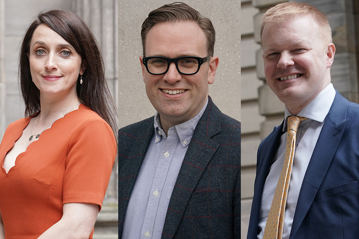 Anderson Strathern appoints trio of directors