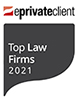eprivateclient Top Law Firm 2021